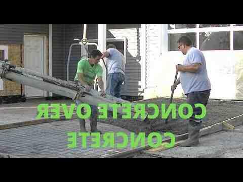 Comment couler une dalle en béton sur de la terre ?