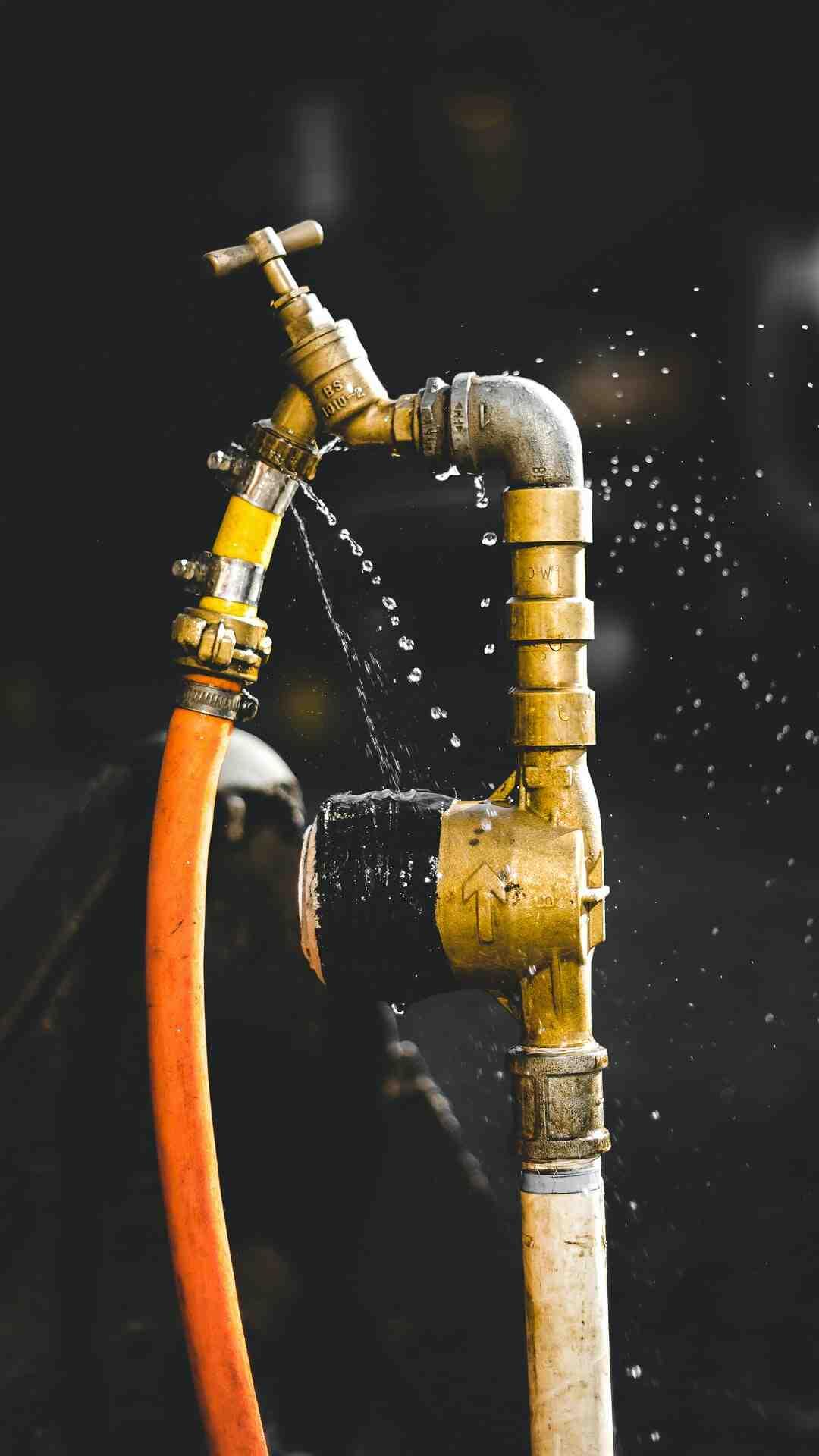 Comment installer une arrivée d'eau ?