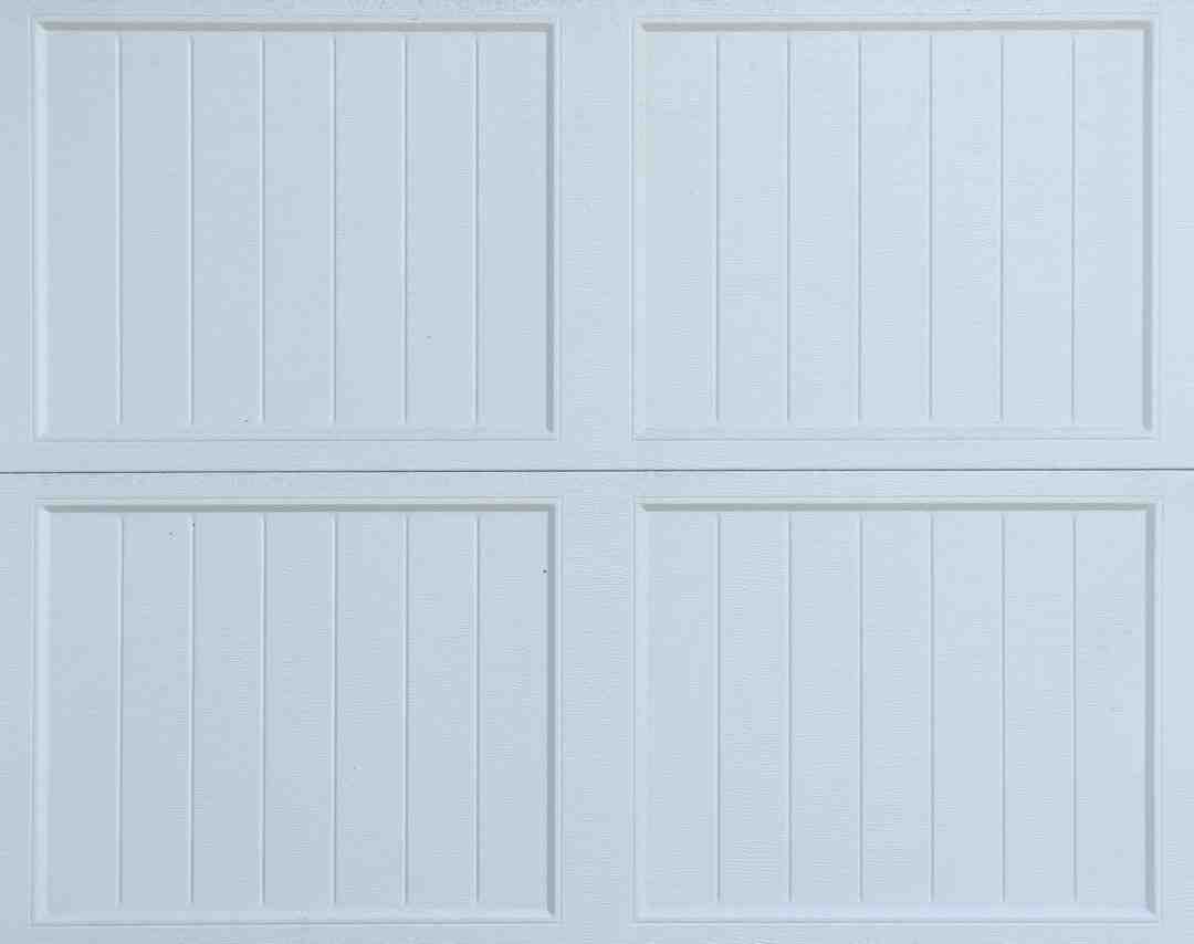 Comment isoler porte de garage