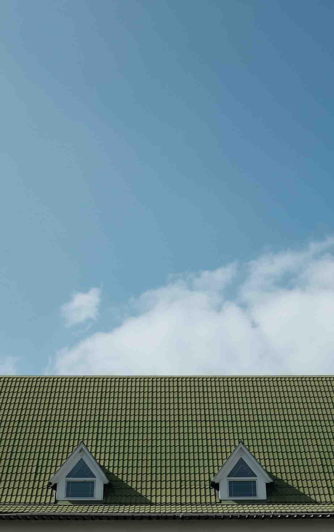 Comment poser une toiture en tôle ondulée