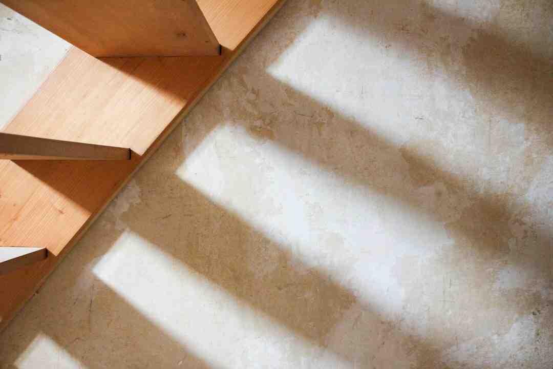 Comment renover un escalier